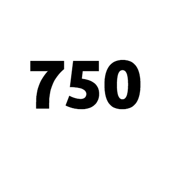 750 Words Logo