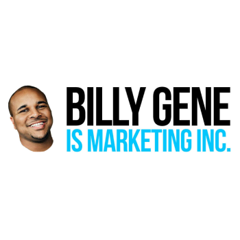 Billy Gene is Marketing Logo