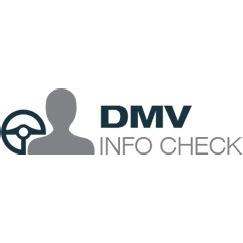 DMV Info Check Logo