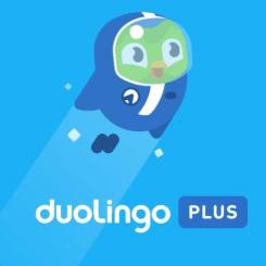 Duolingo Plus Logo