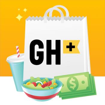 GrubHub+ Logo