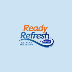 Ice Mountain/Ready Refresh Water Delivery Logo