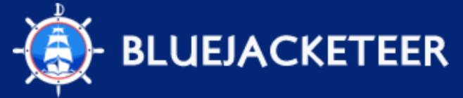 Blue Jacketeer Logo