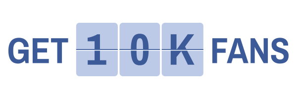 Get 10,000 Fans Logo