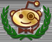 Reddit Gold Logo