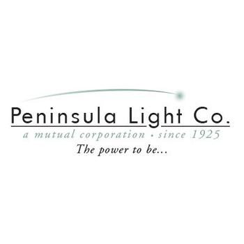 Peninsula Light Company Logo