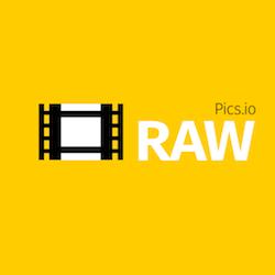 raw.pics.io Logo